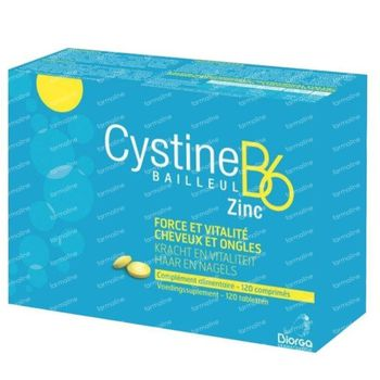 Cystine B6 Zinc 120 comprimés
