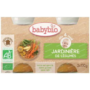 Babybio Tuingroenten 2x130 g