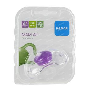 Dodie Mam Pacifier Airline Ulti Ortho Siliconen 1 1 item