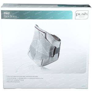 Push Med Support Lombaire 97-110cm T4 1 pièce