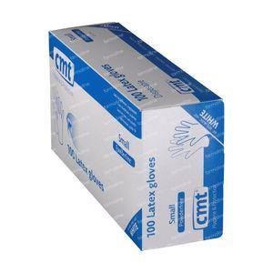 Texa Gloveen Latex White PF Small 100 St