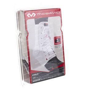 Mcdavid Lightweight Ankle Brace Weiß Große M 1 st