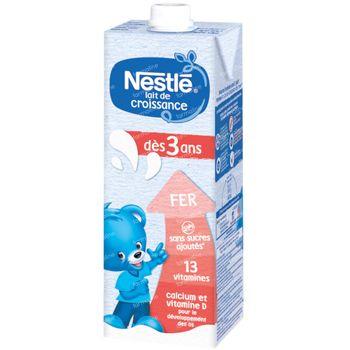 Nestlé  Lait De Croissance Liquide 3+ 1 l