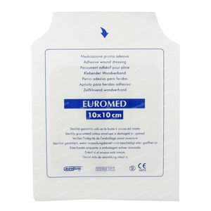 Euromed 10cm x 10cm Island Plaster Sterile 1 pieza