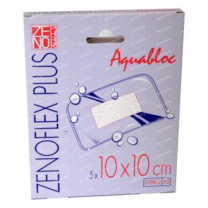 Zenoflex Plus 10cm x 10cm Plaster Sterile 5 bandages