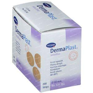 Dermaplast Sensitive 22mm 200 pièces