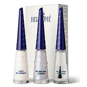 Herôme French Manicure Set Glitter 3x10 ml