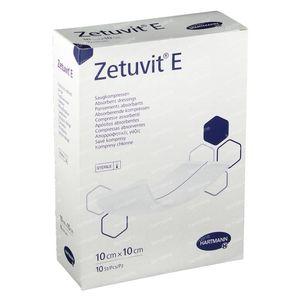 Zetuvit E 10cm x 10cm 10 pièces