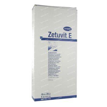 Hartmann Zetuvit E Stérile 10 x 20cm 413779 5 pièces