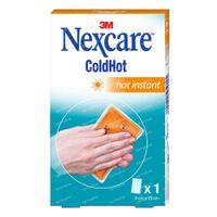 Nexcare ColdHot Hot Instant Herbruikbaar 9cmx13cm 1 st
