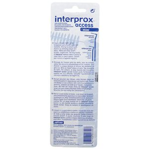 Interprox Access Interdentale Borstel Mini Geel 4 stuks
