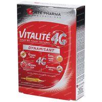 Forté Pharma Energie Vitalité 4G 20x10 ml ampullen