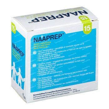 Naaprep Fysiologisch Water 15x5 ml