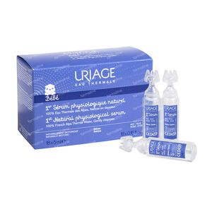 Uriage Isophy Fysiologisch Serum Naturel 90 ml unidosis
