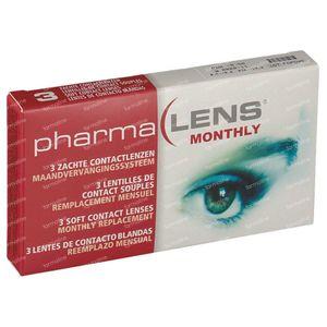PharmaLens Maandlenzen -9.50 3 lenzen