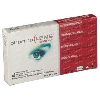 PharmaLens Lentilles (mois) (Dioptrie -9.50) 3 lentilles
