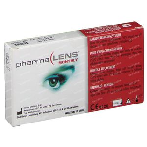 PharmaLens Maandlenzen -12.00 3 lenzen