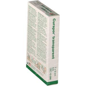 Lohmann & Rauscher Curapor Transparent Sterile 7x5cm 13099 5 bandages