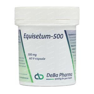 Deba Equisetum 500mg 60 capsules