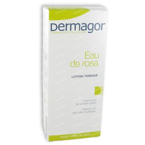 Dermagor Rose Water 150 ml Locion corporal