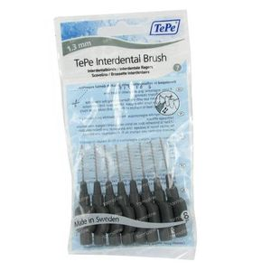 Tepe Interdental Brush Cyl. 1.30 mm Grijs X-Large 8 stuks