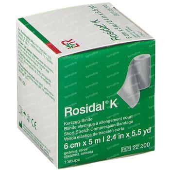 Rosidal K 6cm x 5m 22200 1 st