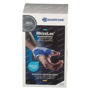 Rhizoloc Hand Orthesis Right T2 1 stuk