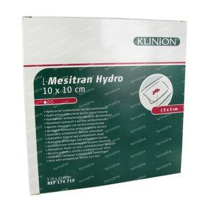 L - Mesitran Compress Hydro 10 x 10 Cm 5 pieces
