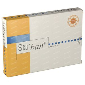 Scarban Light Silicone Sheet 5cm x 7,5cm 2 pièces