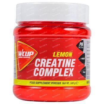 Wcup Creatine Complex Citron 500 g poudre