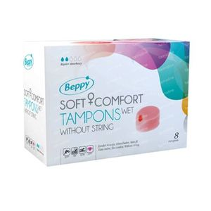 Beppy Action Tampon Wet 8 pieces