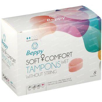 Beppy Soft Comfort Tampons Wet 8 pièces
