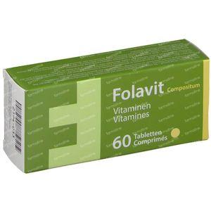 Folavit Compositum 60 comprimés