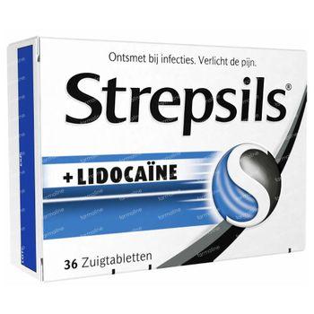 Strepsils Lidocaïne 36 pièces