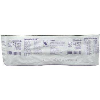 BD Plastipak Spuit Zonder Naald Luer-Lok 50-60ml 1 stuk