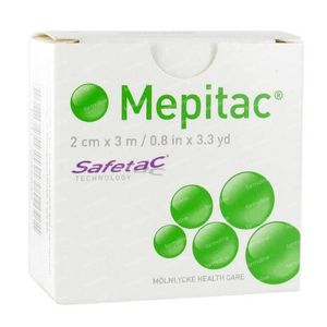 Mepitac Soft Fixation Tape 2Cm x 3M 1 item