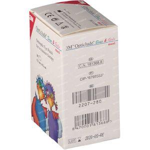 3M Opticlude Oogpleister Boys & Girls Maxi 57mm x 80mm 30 stuks