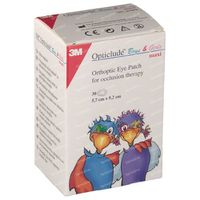 3M Opticlude Compresse Occulaire Boys & Girls Maxi 5,7cm X 8cm 2539PE 30 st