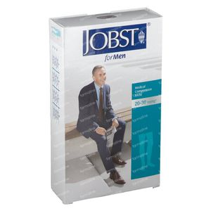 Jobst Pour Homme KL2 Cuisse Mi-Bas Noir M 7526200 1 pièce