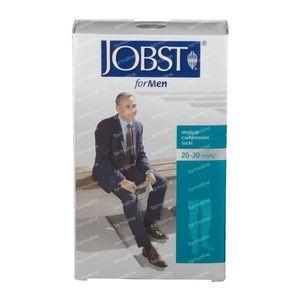 Jobst Pour Homme KL2 Cuisse Mi-Bas Noir M 7526200 1 paire