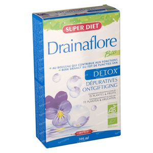 Super Diet Drainaflore Bio 300 ml Ampoules