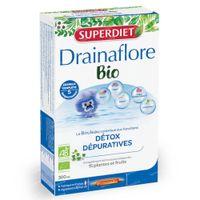Superdiet Drainaflore Detox Bio 20x15 ml