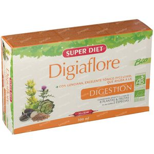 Super Diet Digiaflore Bio 50 ampoules