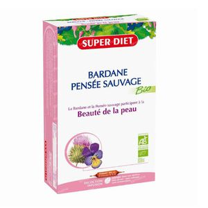 Super Diet 3 Colored Pansy Bio Beautiful Skin 20 St Ampoules
