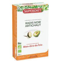 Superdiet Radis Noir - Artichaut Bio 20x15 ml