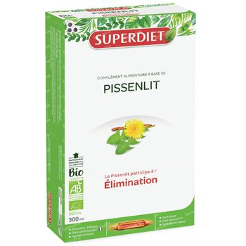 Superdiet Pissenlit Bio 20x15 ml