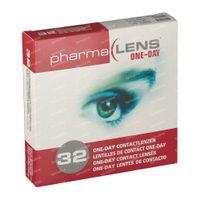 PharmaLens Tageslinsen (Dioptrie: -1.25) 32  kontaktlinsen