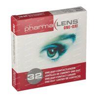 PharmaLens Tageslinsen (Dioptrie: -1.75) 32  kontaktlinsen