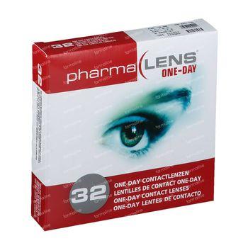 PharmaLens lentilles (jour/24 heurs) (Dioptrie: -3.00) 32 lentilles