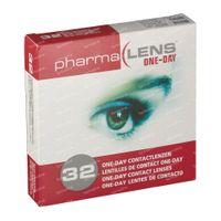 PharmaLens Tageslinsen (Dioptrie: -3.75) 32  kontaktlinsen